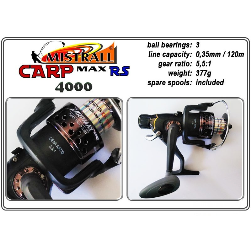 Spole MISTRALL Carp MAX - 4000 RS