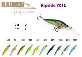 @ Vobleris RAIDEN «Riptide» 70 F (7 g, 70 mm, krāsa S07, iep. 1 gab.)