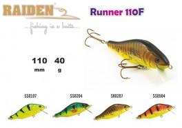 @ Vobleris RAIDEN «Runner» 110 WF (40 g, 110 mm, krāsa SS0504, iep. 1 gab.) koks