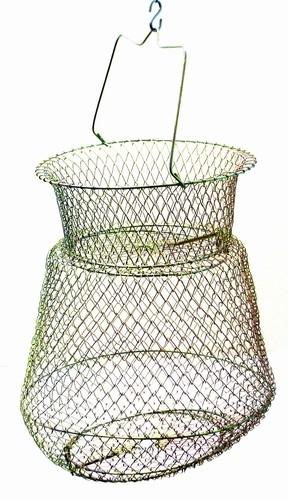 Uzglabājamais tīkliņš 2S10 (25 / 25 / 21 cm, 2 nodal., metāla)