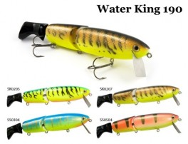 @ Vobleris RAIDEN «Water King» 190 WF (66 g, 190 mm, krāsa SK0207, iep. 1 gab.) koks