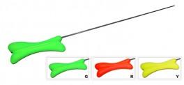 Зимняя удочка AKARA RK-W2 (HiCarbon составной хлыстик, 38 см, рукоятка 120 мм, зелёная)
