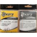 Крючки AKARA 029-1 (№ 10, BN, универсальные, упак. 10 шт.)