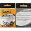 Akara easy press split ring 8
