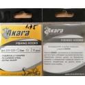 Крючки AKARA 001-1 (№ 4, BN, универсальные, упак. 10 шт.)