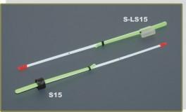 Lavsāna sardziņš AKARA S-LS 15S (silikona stipr., 120 mm, stingrums: 0,35, slodze: 0,40 - 1,80 g, iepak. 10 gab.)