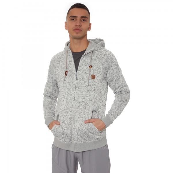 Jaka Fleece Jacket Avalon   Grey *XL
