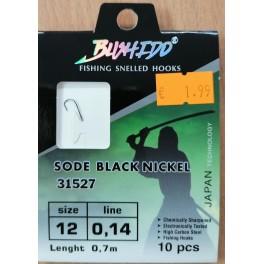 """Aprīkoti ar pavadiņu āķi """"BUSHIDO"""" (0.14mm, №12)"""