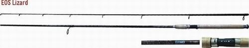 Makšķerkāts EOS «LIZARD» 13440 2X (saliek., 2,70 m, oglekļšķ., 255 g, tests: 5-20 g)