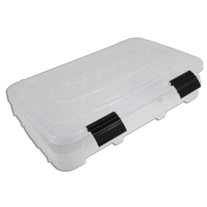 Пластмассовая коробка с передвижными секциями (36.4x24.8x5cm)